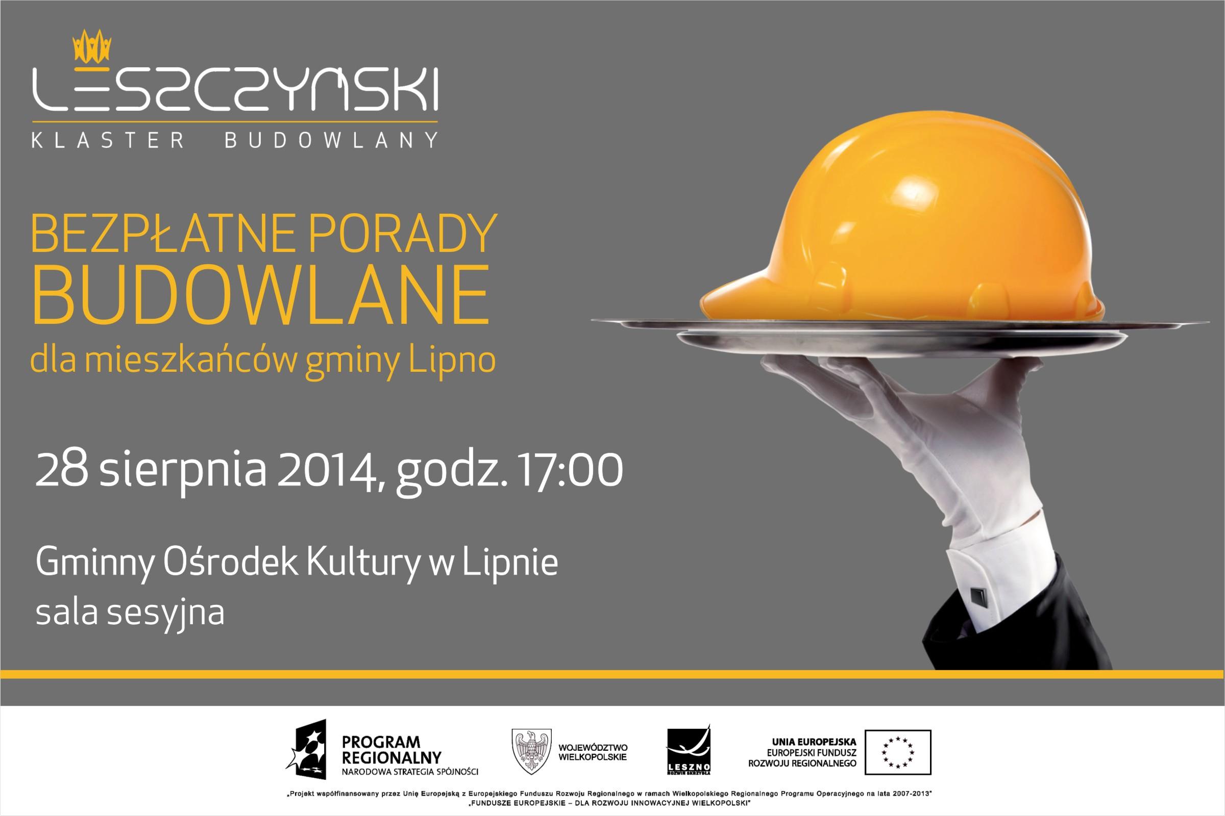 Bezpłatne porady budowlane dla mieszkańców gminy Lipno